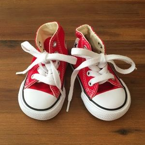 NWOT Baby High Top Converse